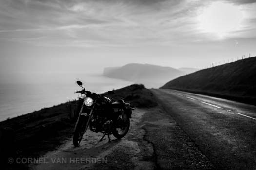 cornel van heerden photography photographer royal enfield caferacer motorcycle isle of wight 50