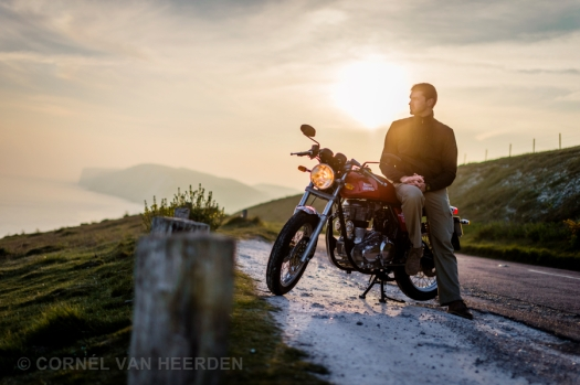 cornel van heerden photography photographer royal enfield caferacer motorcycle isle of wight 51