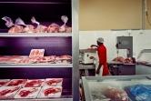 Al Jazeera feature on the Ponte Building and surrounding areas in Johannesburg CBD, South Africa. Meat can be seen inside a butchery/supermarket, inside Ponte. . Picture: Cornel van Heerden/Al Jazeera