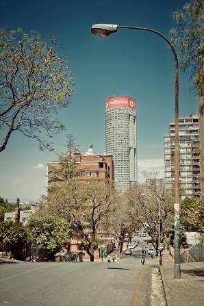 Al Jazeera feature on the Ponte Building and surrounding areas in Johannesburg CBD, South Africa. Ponte seen from the tstreet. . Picture: Cornel van Heerden/Al Jazeera