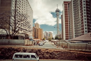 Al Jazeera feature on the Ponte Building and surrounding areas in Johannesburg CBD, South Africa. The Hillbrow/Telkom tower. . Picture: Cornel van Heerden/Al Jazeera