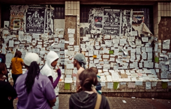 Al Jazeera feature on the Ponte Building and surrounding areas in Johannesburg CBD, South Africa. On a local makeshift advertising board, people will advertise single rooms to sublet. In Ponte and surrounding areas. . Picture: Cornel van Heerden/Al Jazeera